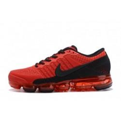 Nike Air Vapormax Flyknit Rouge/Noir Pas Cher