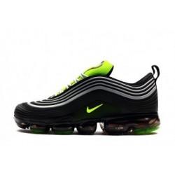 Nike Air VaporMax 97 Noir/Gris/Vert Pas Cher