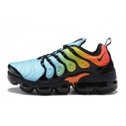 Nike Air VaporMax Plus/TN Bleu/Noir/Orange Pas Cher