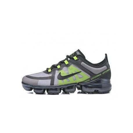 Nike Air VaporMax 2019 Noir/Vert Pas Cher