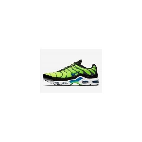 Nike Air Max Plus Volt Photo Homme Noir Pas Cher