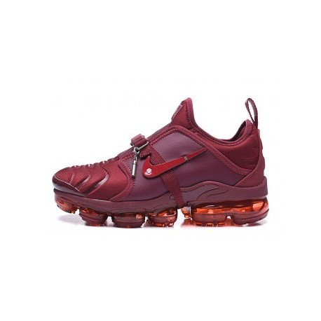 Hommes Nike Air VaporMax Plus Sur Air Lou Matheron Rouge Pas Cher