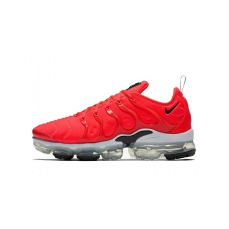 Nike Air VaporMax Plus/TN Blanc/Rouge Pas Cher