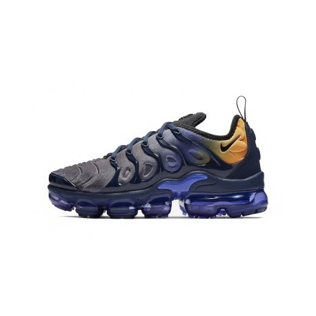 Nike Air VaporMax Plus/TN Bleu/Orange Pas Cher