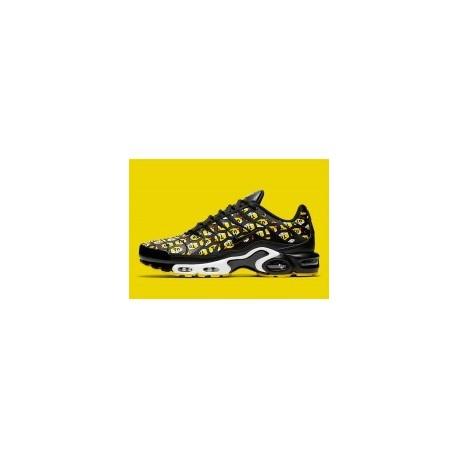 Nike Air Max Plus 'Hive Pack' Noir Jaune Homme Pas Cher