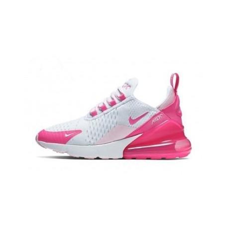 Femme Nike Air Max 270 Rose/Blanc Pas Cher