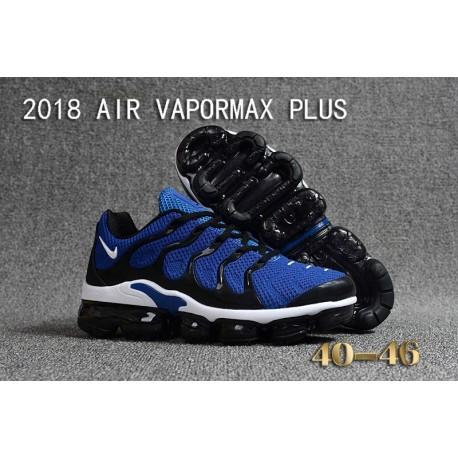 Nike Air VaporMax Plus KPU Royal Bleu Noir Blanc Pas Cher