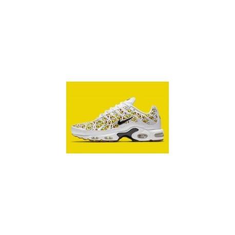 Hive Pack' Nike Air Max Plus Homme Blanc Noir Pas Cher