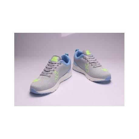 Femme Nike Air Max 270 Gris/Bleu Pas Cher