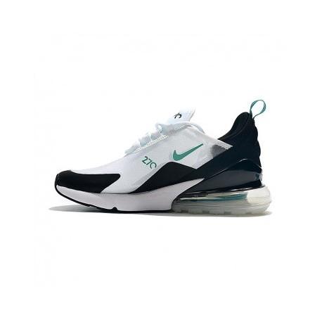 Femme/Homme Nike Air Max 270 Blanc Pas Cher