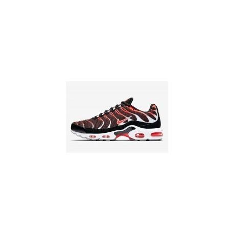 TN 2019 Homme Nike Air Max Plus Hot Lava Noir Gris Pour Homme Pas Cher