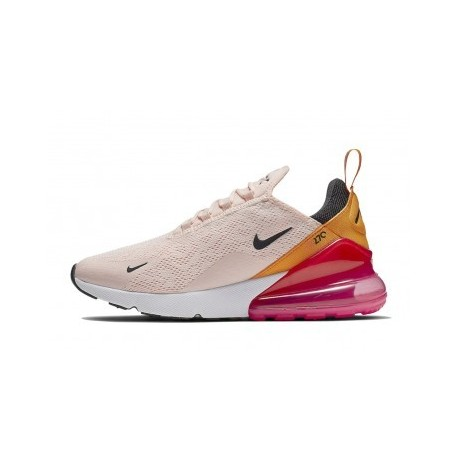 Femme Nike Air Max 270 Pink Soldes Pas Cher