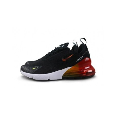 Femme/Homme Nike Air Max 270 Noir Soldes Pas Cher