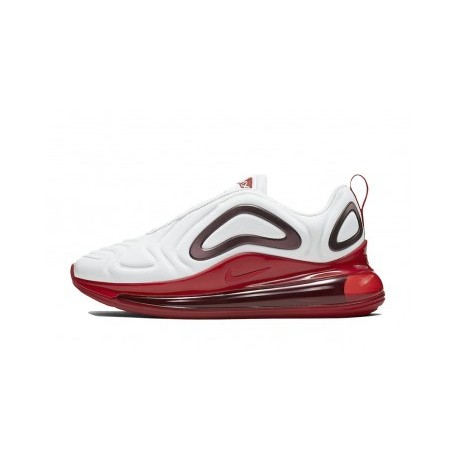 Femme Nike Air Max 720 Blanc/Rouge Pas Cher