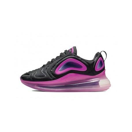Femme Nike Air Max 720 Noir/Rose Pas Cher