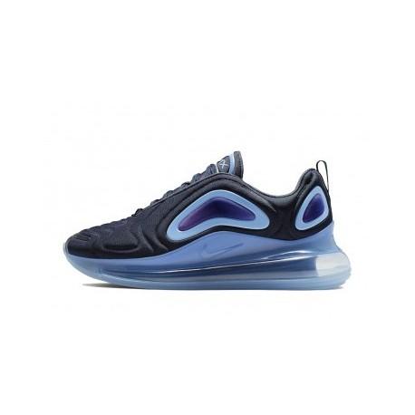 Femme/Homme Nike Air Max 720 Bleu Pas Cher