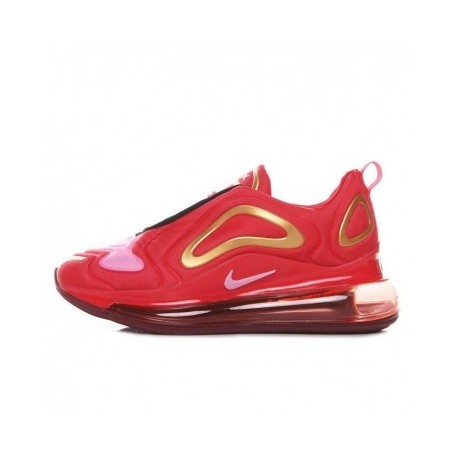 Femme Nike Air Max 720 Rouge/Or Pas Cher