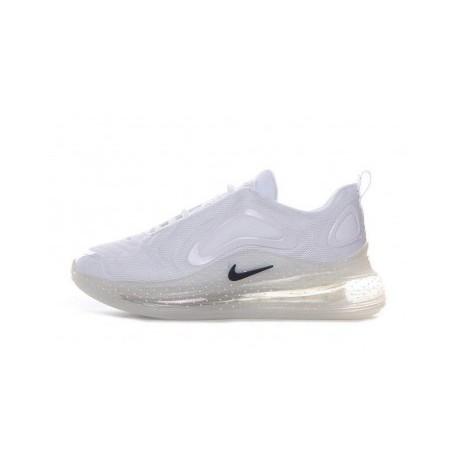 Femmes/Hommes Nike Air Max 720 Blanc Pas Cher
