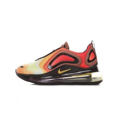 Femme Nike Air Max 720 Gris/Jaune Pas Cher