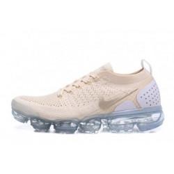 Femmes/Hommes Nike Air Vapormax Flyknit 2.0 Blanc Pas Cher