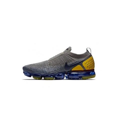 Femmes/Hommes Nike Air Vapormax Flyknit 2.0 Gris/Jaune Pas Cher