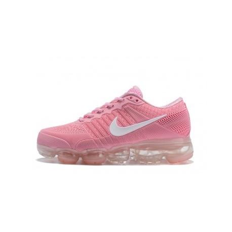 Femme Nike Air Vapormax Flyknit Rose/Blanc Pas Cher