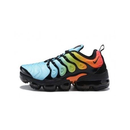 Nike Air VaporMax Plus/TN Bleu/Noir/Orange Pas Cher