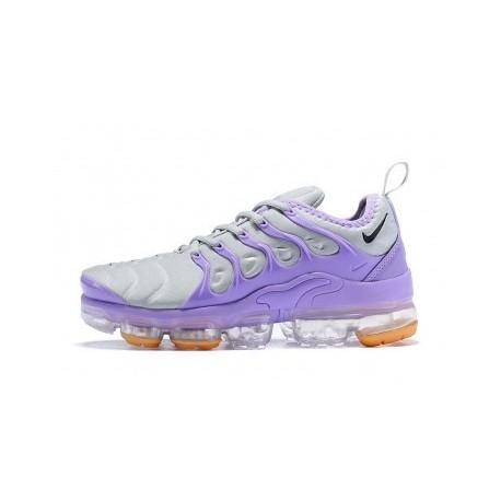 Femmes/Hommes Nike Air VaporMax Plus/TN Gris/Violet Pas Cher