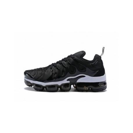 Femme/Homme Nike Air VaporMax Plus/TN Noir/Blanc Pas Cher