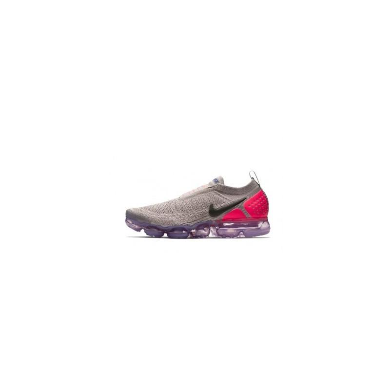 Femme Nike Air Vapormax Flyknit 2.0 GrisRose Pas Cher