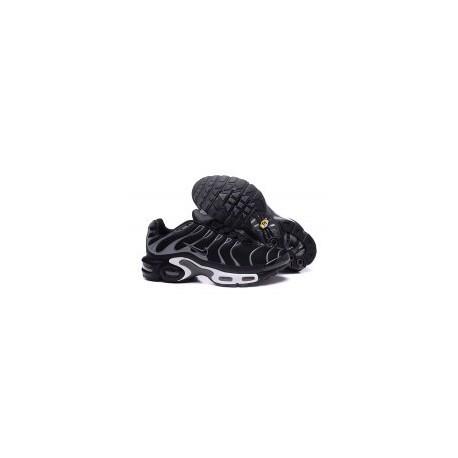 TN 2019 Homme Nike Air Max Plus TN Hommes Ultra Noir Gris Pas Cher