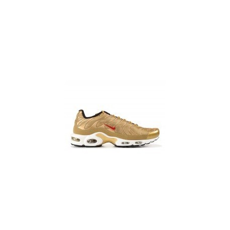 TN 2019 Homme Nike Air Max Plus Hommes TN Ultra Or Rouge Pas Cher