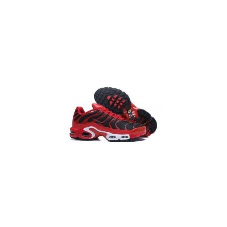 TN 2019 Homme Nike Air Max Plus TN Hommes Ultra Rouge Noir Pas Cher