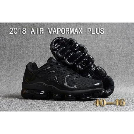 Nike Air VaporMax Plus KPU Tout Noir Pas Cher