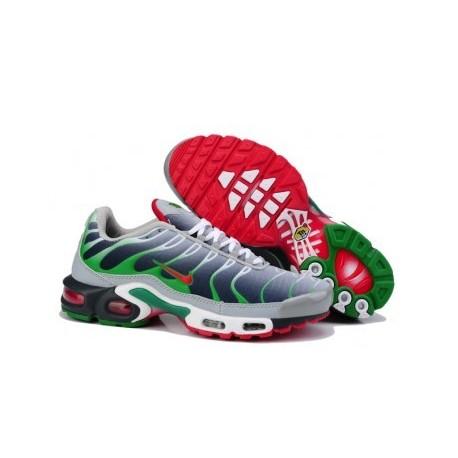 Nike TN 2019 Homme gris/vert/rouge