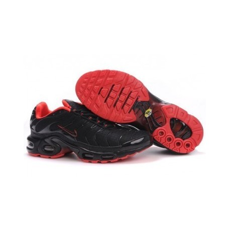 Nike TN 2019 Homme noir/rouge Soldes