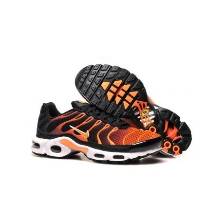 Nike TN 2019 Homme noir/orange Pas Cher